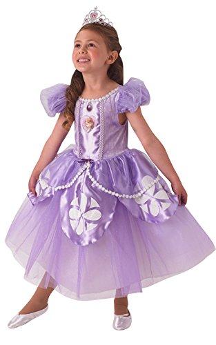 Rubie's - Disfraz oficial de Sofía para niños (niños de 3 a 4 años)