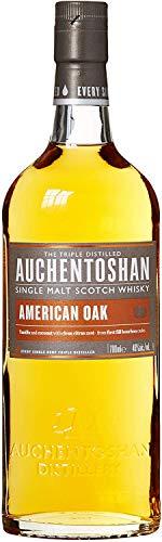 Auchentoshan American Oak Single Malt Whisky Escoces, 40% - 700 ml