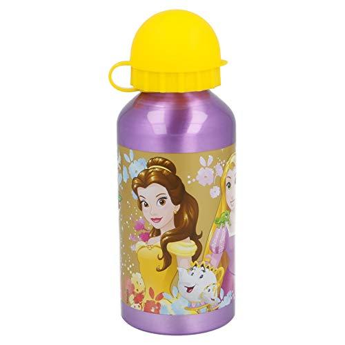 Stor Botella Aluminio 400 ML | Princesas Disney Forever