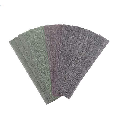 10 Pcs 400 * 70mm Mesh Abrasive Dust Free Sanding Discs Anti-blocking Dry Grinding Sandpaper 80 to 320 Grit Hook Loop 120