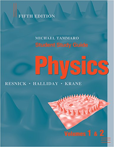 Student Study Guide to accompany Physics, 5e