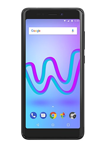 Wiko Jerry 3 Smartphone (13,8 cm (5,45 Zoll) Display, 16GB interner Speicher, Android Oreo Go Edition) anthrazit