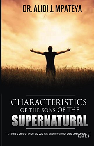 Characteristics of the sons of the supernatural (English Edition)