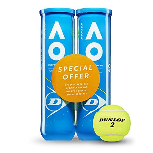 Dunlop Sport 0045566168498 Palline Unisex Adult, Giallo