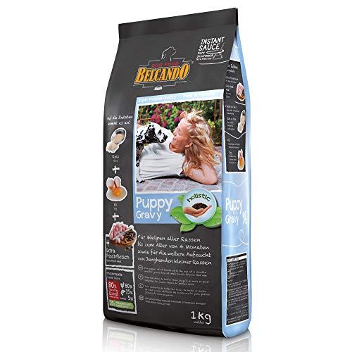 Belcando Puppy Gravy [1 kg] Welpenfutter | Trockenfutter für Welpen | Alleinfuttermittel für Welpen bis 4 Monate