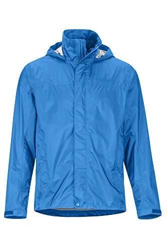 Marmot PreCip Eco Jacket Chubasquero rígido, Chaqueta Impermeable, a Prueba de Viento, Impermeable, Transpirable, Hombre, Classic Blue, M