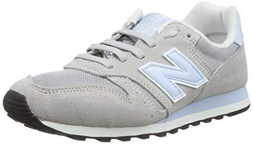 New Balance Damen 373 Sneaker, Weiß (Light Aluminum/Platinum Sky Laa), 36.5 EU