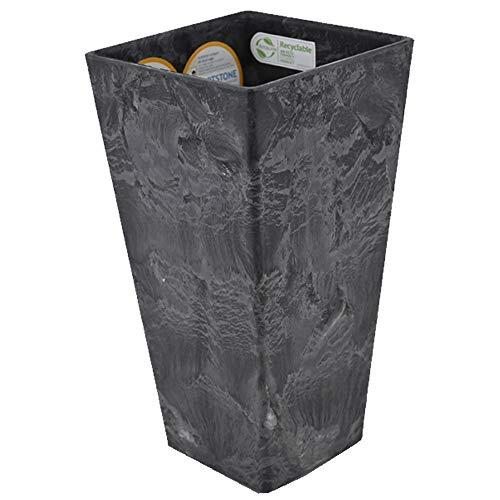 ARTSTONE Pflanztopf Ella Übertopf Vase Pflanzgefäß Pflanzkübel Drainagesystem H 26 cm