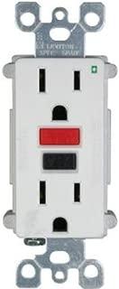 Leviton Mfg Co R72-N7599-0Rw Duplex Receptacle, 15-Amp, 120-volt, White