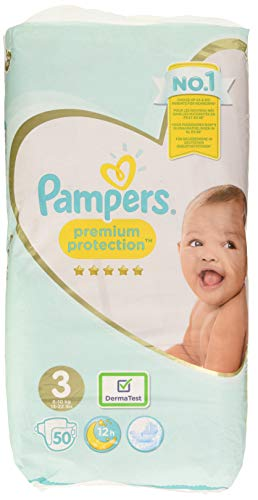 Pampers Windeln Premium Protection, 3,4796 kg