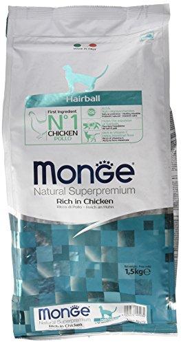 Monge Natural SUPERPREMIUM Cat Hairball Alimenti Gatto Secco Premium