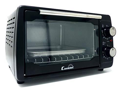 Horno mini sobremesa COMELEC 11 Litros, 2 resistencias acero, temporizador, temperatura regulable, 1000W