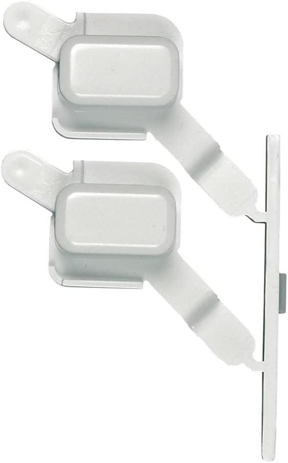 Original Tecla Tapa clave blanco Principio 2 x 481071425531 Whirlpool Bauknecht