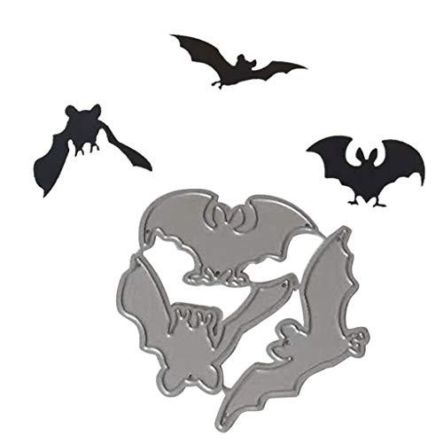Halloween Fledermaus Stanzschablone DIY Fledermaus-Muster Cut Schablone Halloween Scrapbook Papier Karten Basteln