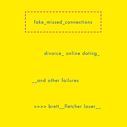 Fake Missed Connections audiobook cover art