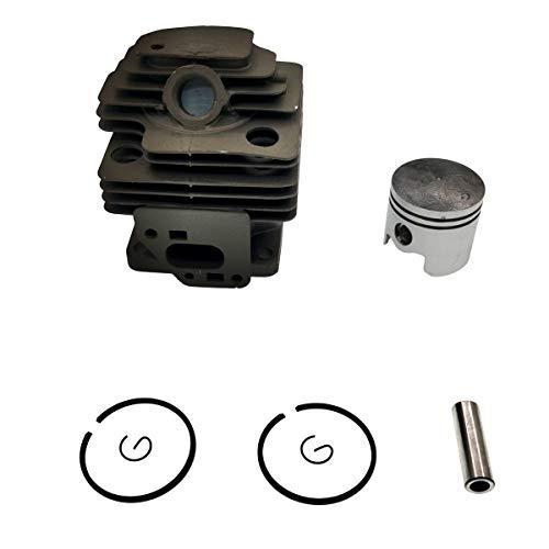 Cancanle Kit pistone e Blocco cilindri da 36 mm per Mitsubishi TL33 TB33 TU33 BG330 decespugliatore