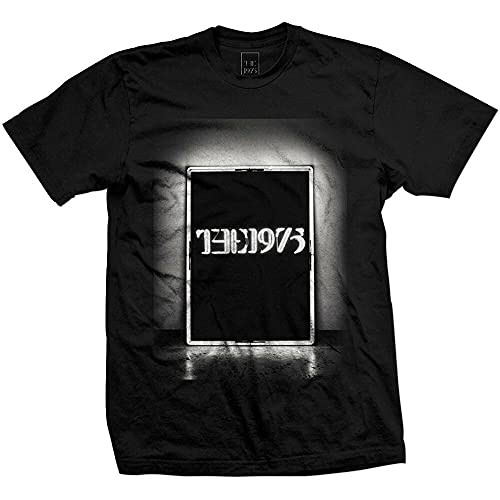 YOUYUAN The 1975 Black Box Guitar Cabinet Logo Men's Graphic T-Shirt Black s