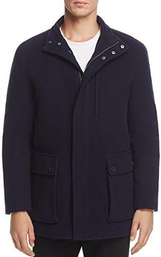 Cole Haan Men's Wool Cashmere Car Coat