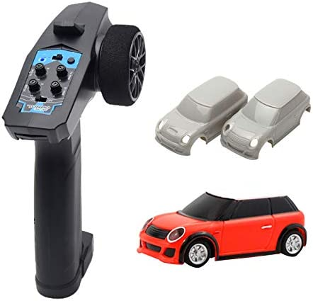 UXELY Remote Control Car 1 76 2 4GHz Mini RC Radio Remote Control Micro Car Small Remote Control product image