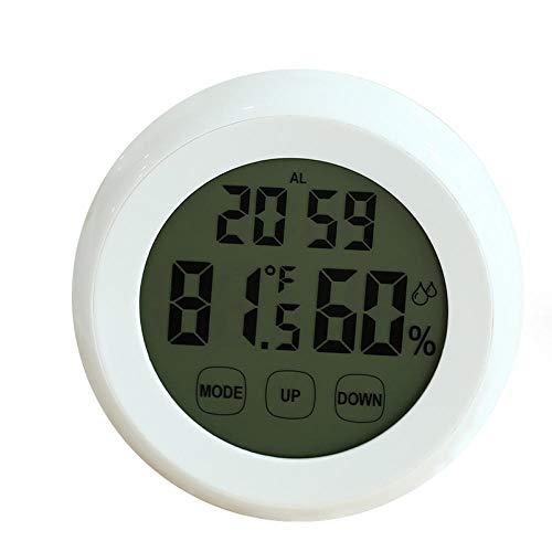 Despertador Despertar Ronda Estudiante mudo brillante creativo inteligente pantalla táctil reloj electrónico 9cm