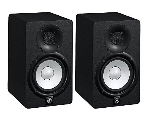 Yamaha HS5-K - Coppia Monitor Cassa Attiva Professionale per Dj o da Studio a due vie, Nero
