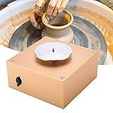 Akozon Tornio per Ceramica Attrezzo di Modellatura dell'argilla di Lavoro Ceramico Macchina di Ruota di Ceramica 1500 RPM 12V Pottery Wheel Clay