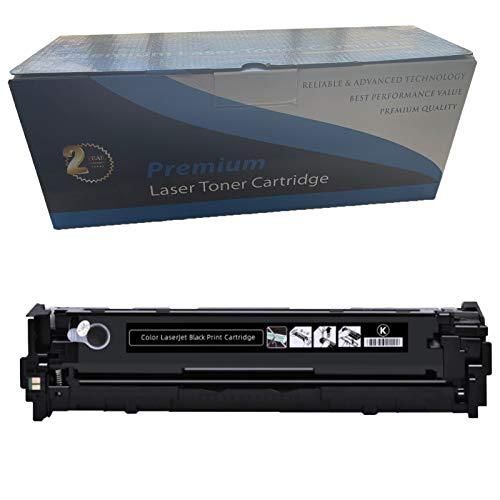 RRWW [con Chip] Reemplazo del Cartucho De Tóner CB540A para HP Color Laserjet CP1213 CP1214 CP1215 CP1215 CP1215 CP1515N CP1514N CP1515N CP1516N CP1517NI CP1518NI CP1519N Black