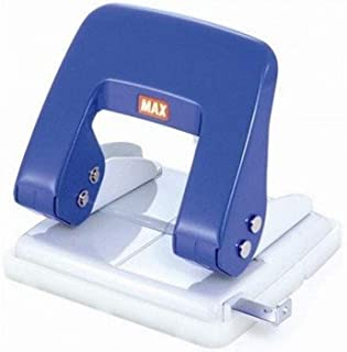 Max 2-Hole Paper Punch D Type 27 Sheets Paper