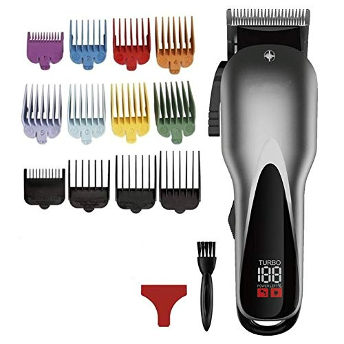 De Precisión Recortador Profesional Hair Clipper Electric Hair Trimmer Hombres Recargable Sin...