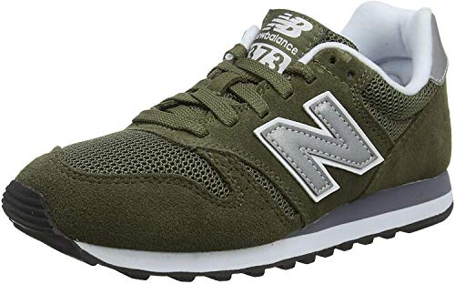 New Balance Herren 373 Core Sneaker Low-top, Grün (Olive), 42.5 EU