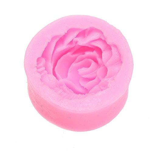 BoBoLily Cake Pop Moulds,Cake Mould,Big Rose Die Mold Bake Cake DIY Production Tool Silica Gel
