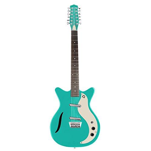Danelectro Vintage 12 Cuerdas Guitarra Eléctrica - Dark Aqu