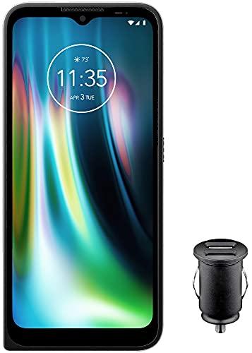 """Motorola Defy Outdoor Smartphone (6,5"""" kratzfestes HD+ Bildschirm, 48MP Quad-Kamera , Android 10 (Upgrade auf 11), 5000mAh, 4/64GB, wasserdicht & sturzsicher, MIL SPEC 810H) schwarz inkl. Kfz-Adapter"""