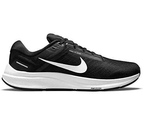 Nike Air Zoom Structure 24, Zapatillas para Correr Hombre, Barely Volt Black Volt Aurora Green, 44 EU