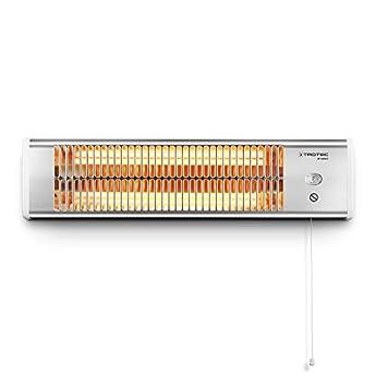 Foto di TROTEC Stufetta a infrarossi IR 1200 S con 2 livelli di riscaldament, IP24/ Calore pulito, senza condensa, inodore, asciutto e totalmente silenzioso