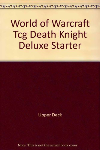 World of Warcraft Tcg Death Knight Deluxe Starter