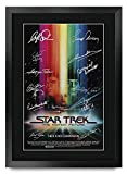 HWC Trading Star Trek The Motion Picture A3 Gerahmte