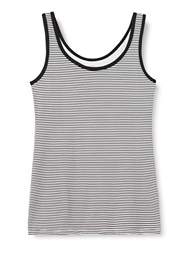 IRIS & LILLY Camiseta de Tirantes de Algodón para Mujer
