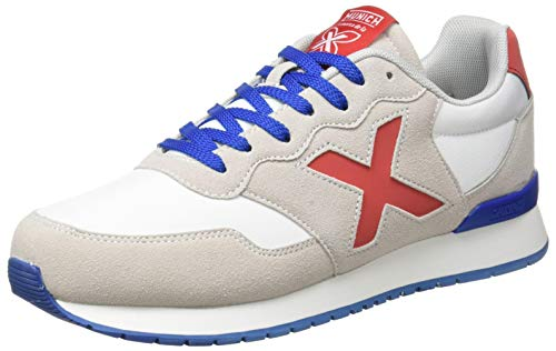 Munich DASH 52, Zapatillas Adulto, Blanco, 44 EU