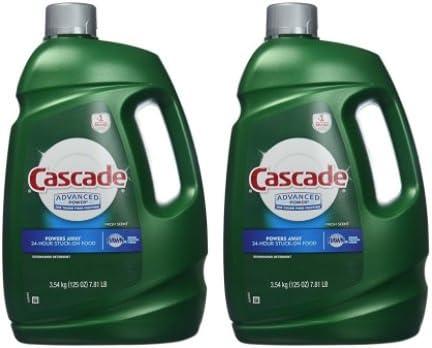 Cascade Advanced Power Chicago Mall Liquid Machine Dishwasher Detergent with Trust