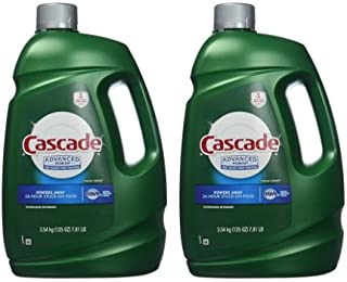 Cascade Advanced Power Liquid Machine Dishwasher Detergent with Dawn, 125-fl, Plastic Bottle