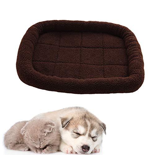 Gaowenhappy Cama Perro pequeño Cama para Gatos Camas para Perros Camas para Gatos De Peluche Cama del Perro Cama de Perro pequeño De Lujo Cama del Perro Brown,Medium