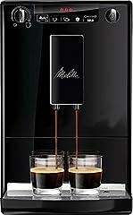 Melitta Caffeo Solo Cafetera Molinillo, 15 Bares, Café en Grano para Espresso, Limpieza Automática, Personalizable, 1400 W, 1.2 litros, plástico, Negro