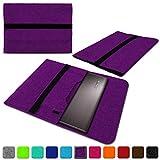 NAUC Lenovo Thinkpad Yoga 370 Tasche Hülle Filz Sleeve Case Schutzhülle Notebook Cover, Farben:Lila