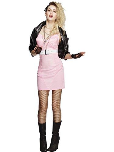 Fever Women's 80's Rocker Diva Costume, Multi, Large