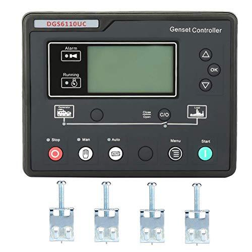 LHQ-HQ Panel de control del generador, panel de control del módulo del controlador del generador electrónico DGS6110UC con pantalla LCD