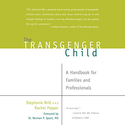 The Transgender Child audiobook cover art