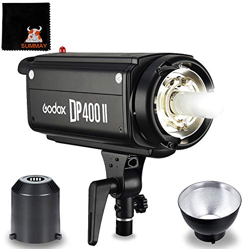 GODOX DP400II 400Ws 2.4G GN65 Studio Strobe Flash