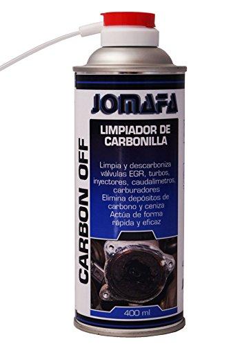 JOMAFA - SPRAY LIMPIADOR DE CARBONILLA 400ML PARA CARBURADOR, ADMISION, VALVULAS EGR.