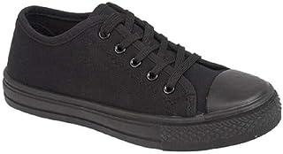 White//Navy Sizes 3-13 Mens Trainers DEK Venusl Lace-Up Jogging Shoes